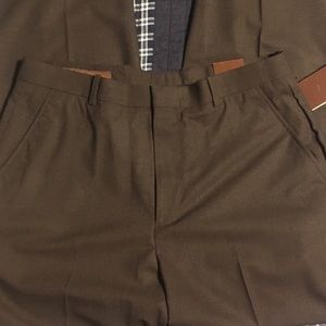 Brown Perry Ellis Dress Pants